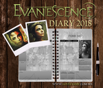 Evanescence Diary 2018 by lovelyamyweb