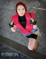 Heaven's Warrior-RE: DC Claire Redfield Cosplay by Hamm-Sammich