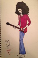 Sharpie Tony Iommi by Heartcherry14