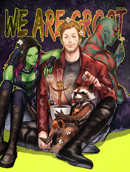 WE ARE GROOT by kanapy-art