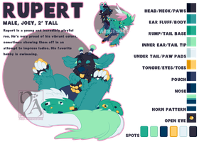 Rupert Ref Sheet by StarkindlerStudio