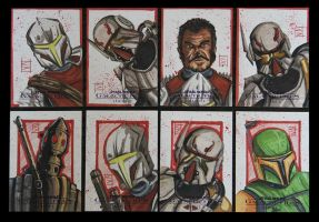 SWGF2 - Bounty Hunters of Old and New by ChrispyDee