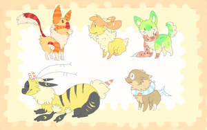 Tiny adopts!! CLOSED by MUTTD0G