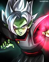 Zamasu Fusion (Dragon Ball Super) by TomislavArtz