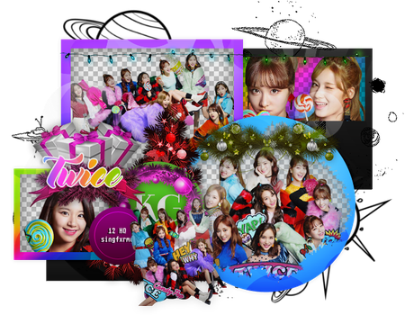 TWICE | CANDY POP | PACK PNG by KoreanGallery
