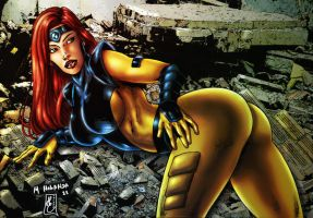JEAN GREY (colors) by FantasticMystery