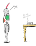 Dark Souls - Solaire Avoiding studying by CaptainToog