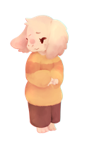 Smol Goat Child by BeIIPaws