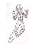 5$ Single Character Sketch #5 - Kiva by Speedslide