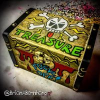 An angry pirates treasure (work in progress) by BrianABernhard
