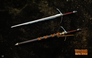 Witcher silver sword by R1EMaNN