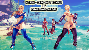 KARIN - ZERO HOT SAMUS by Khaledantar666