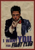 I Want You For Fight Club by Ludkubo