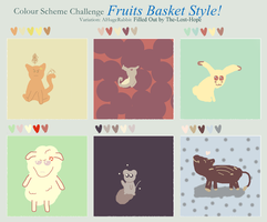 Fruits Basket Style Color Scheme Meme by The-Lost-Hope