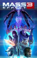 Mass Effect 3 Teaser Poster by BenBrush