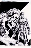 Venger Special COVER in Ink by werder