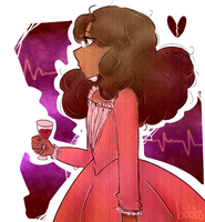 I Will Never Be Satisfied | Angelica Schuyler by bubbfish