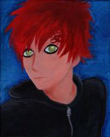 Gaara - acrylic on canvas by unikorn