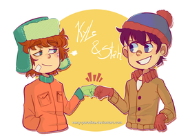 SP Stan and Kyle by Neny-Paradise