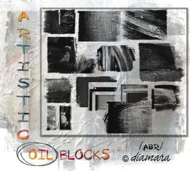Artistic Oil Blocks by Diamara
