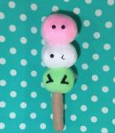 Kawaii Dango Plushie by MakeMePlush