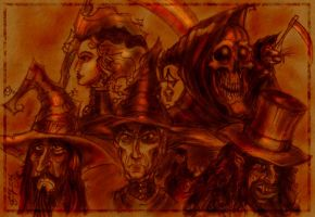 Discworld Characters by zorm