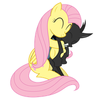 Cuddle-Changeling by Xyotic