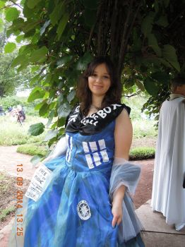 Connichi 2014 TARDIS by Evilkyubi