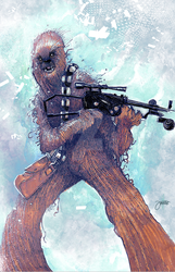 Chewbacca HeroesCon by JeremyTreece