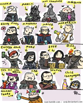 The Witcher 3, doodles 274 by Ayej