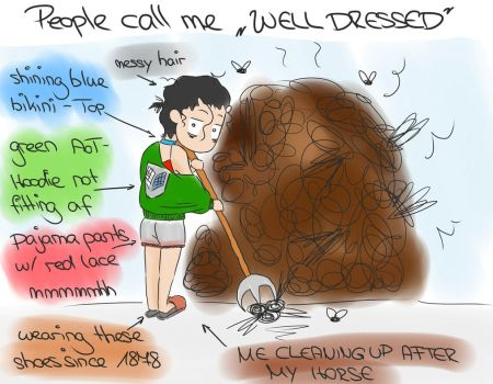People Call Me Well-Dressed by Vanillepudding8