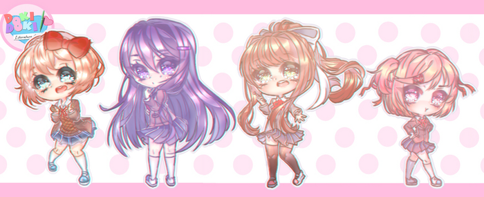 [FA+SpeedPaint]  Doki Doki Literature Club! by Piicchi