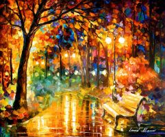 Necessity Of Passion by Leonid Afremov