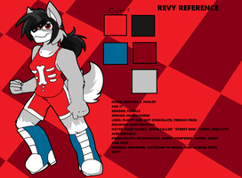 Revy Reference sheet by Supersprite65