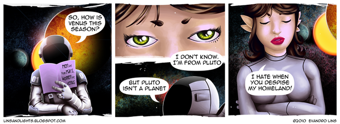 Pluto isn't a planet by EvanLins