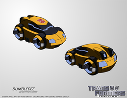 TF:Ignition - Bumblebee (Cybertron Vehicle Mode) by KrisSmithDW