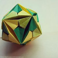 Modular Origami (Inverted Andromeda) by MadSoulChild