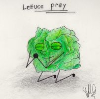 Lettuce Pray by GoldenYak9753