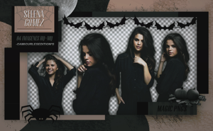 PACK PNG 280| SELENA GOMEZ by MAGIC-PNGS