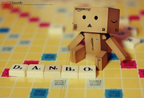 Danbo plays Scrables by bwaworga