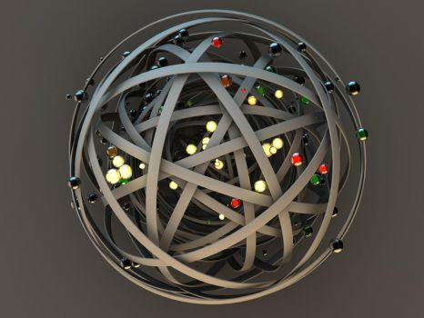 Multiple rings Xpresso project by paulcorfield