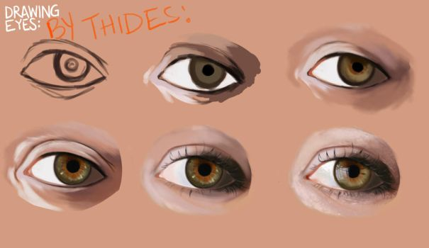 Eyes Tutorial by thides