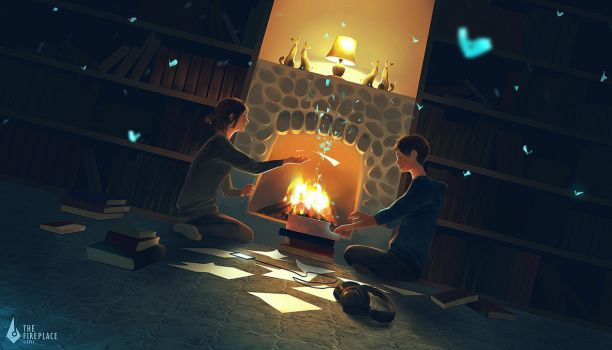 The Fireplace by 3hil