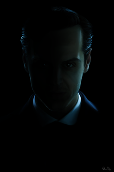 The dark mastermind - Jim Moriarty by Lasse17