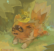 zigzagoon by teacosies