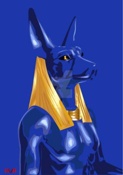 Anubis The Great by Nevine-Panda