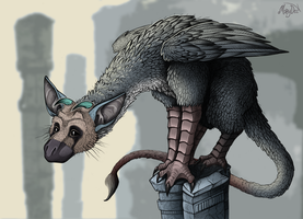 The Last Guardian -  Trico by MaryDec