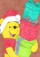 Pooh's Christmas by Krisztian1989