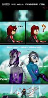 ME: We will freeze you, Shepard - 2 by IzoldeDeith
