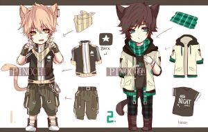 Casual Cloth Adopt (set price) (closed) by pinochu